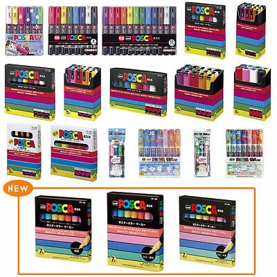 uni POSCA Water Based Paint Marker Pen Popular Poster color markers From Japan