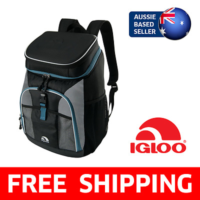 Igloo MaxCold Sport Cooler Backpack | Camping, Leak Resistant Liner, Expandable