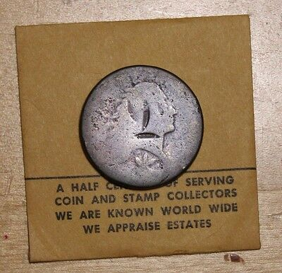 1793 Wreath Cent Large Cent EARLY COPPER VERY SCARCE
