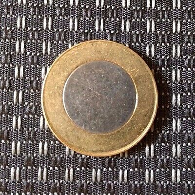 Error Coin - Blank 10 Rs Bimetallic Coin- India - Cool Collectible