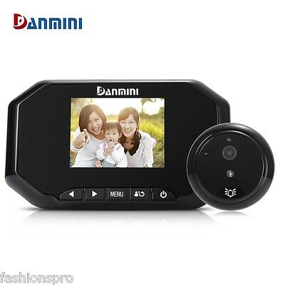 Danmini YB - 30AHD 8G Digital Door Peephole Viewer 1.3MP Camera Video Record