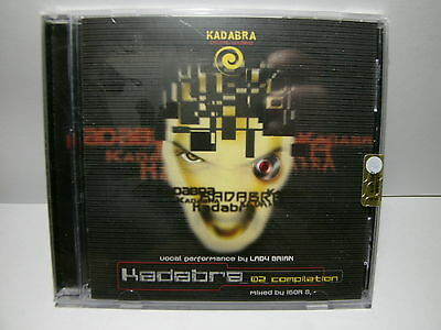 KADABRA 02 COMPILATION Sealed NEW NUOVO SIGILLATO CD 8060003353536
