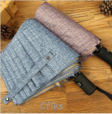 Friendly Gifts Women and men's Fashion Compact Folding Umbrellas Large size