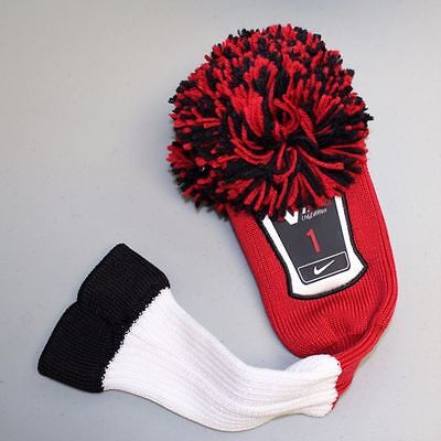 Nike vintage driver head cover - knitted woollen driver cover