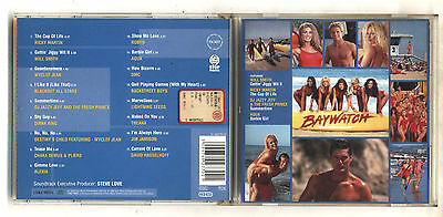 Cd BAYWATCH Soundtrack Colonna sonora Serie TV Telefilm 1998 OST Alexia
