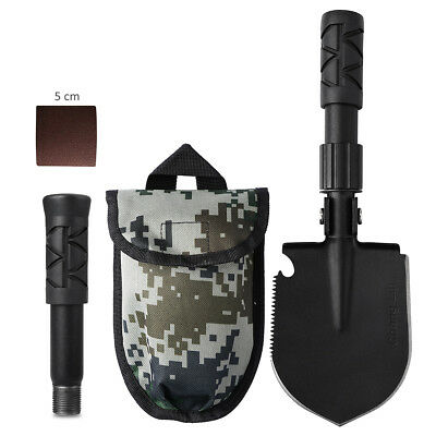 Folding Shovel Survival Multi Tools Pouch OutdoorGarden Camping Hiking Spade HOT