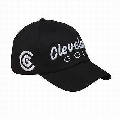 Cleveland Golf Cap - L/XL Size - Black Classic Cleveland and Srixon co brand Cap