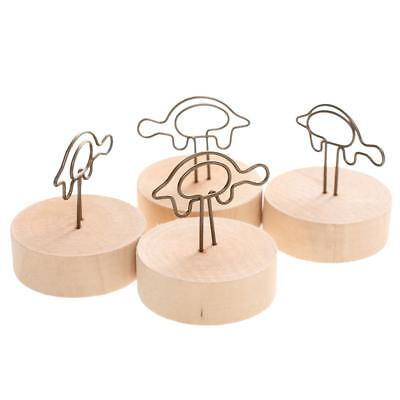 10pcs Cute Tortoise Photo Photo Note Note Clip Stand Card Message Holder