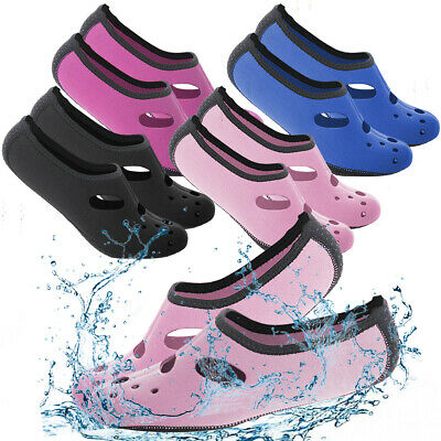 Men Women Skin Water Shoes Aqua Beach Socks Yoga Pool Swim Unisex Adult Barefoot