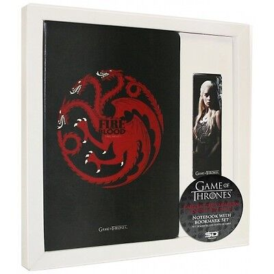 Game Of Thrones Targaryen Notepad & Magnetic Bookmark Set