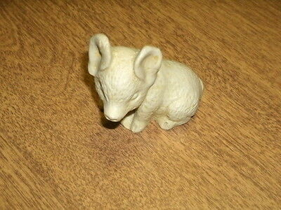"""MINI PIG FIGURINE-MEXICO-2"""" High to TIP OF EAR-NICE DETAIL-VGC"""