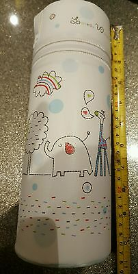 Baby Thermos, Travel Baby insulated bag white