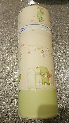 Baby Thermos, Travel Insulated Bottle  green/cream