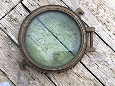Vintage marine  porthole weighing 16kg From Charleston SC Naval Shipyard