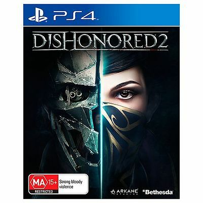 Sony PlayStation 4 PS4 GAME Dishonored 2 BRAND NEW FREE POSTAGE
