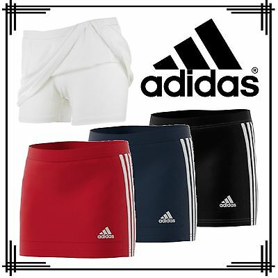adidas 3 Stripe T16 Girls Tennis Hockey Skort CLIMALITE Sport Shorts & Skirt
