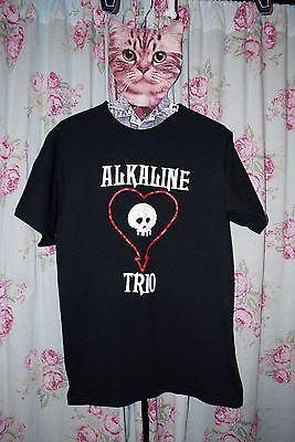 Vintage Alkaline Trio Shirt Men's Small S Rock Alt Band