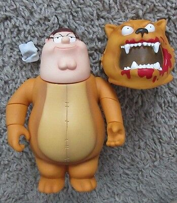 Family Guy Peter As Gary The No Trash Cougar Series 5 Mezco Action Figure Rare