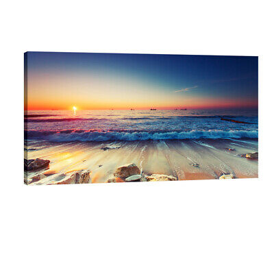 Canvas Print Painting Wall Art Home Decor Picture Photo Landscape Sea Framed