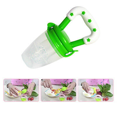 New Baby Feeding Bottle Pacifier Nipple Fresh Food Milk Kids Feeder Soother Chew
