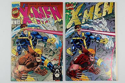 Marvel - X-men - Comic Book Lot of 2 - 1991 Vol. 1 # 1 & Collector's Edition
