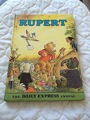 Rupert The Bear Annual 1972, Low Start & Free Postage.