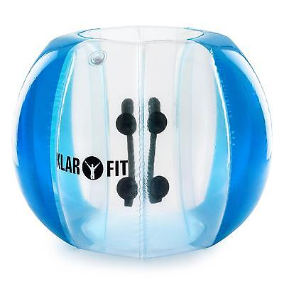 Air Filled Bubble Ball Adults Fun Water Outdoor Sports Activity Blue 120 x150cm