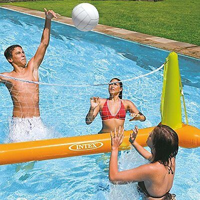Volleyball Pool Set Kids Adults Game Water Sports Spa Team Toy Volleyball Net