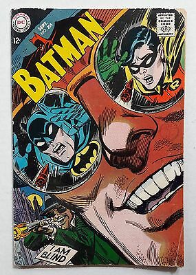 DC Comics Batman No 205  Original Sep 1968 Art By Irv Novick & Joe Giella
