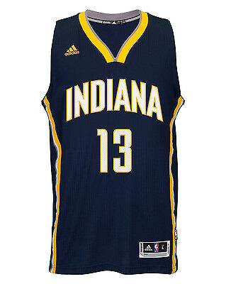 Adidas Men's Indiana Pacers NBA Swingman Jersey (7470A 312 K92511)