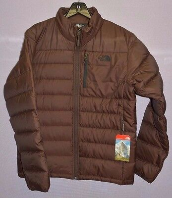 The North Face Men's Aconcagua Winter Goose Down 550 Jacket Coffee Bean Brown M
