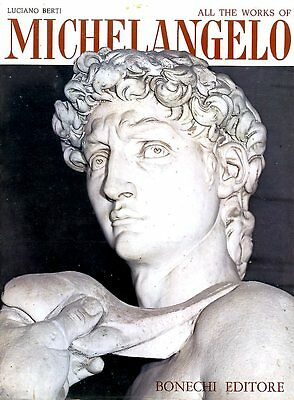 2 Italian Art Books - Uffizi Gallery & All the Works of Michelangelo