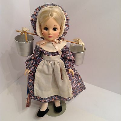 """""""The Milk Maid':  Doll by Effanbee.   11 Inches.  Vintage."""