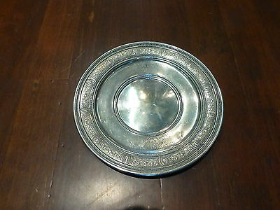 Sterling Silver Horse Trophy Plate Engraved Pair Class 1st prize
