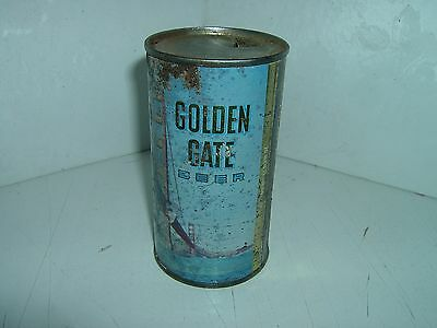 Golden Gate Beer - Flat Top - Beer Can