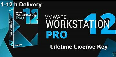 VMware Workstation 12 PRO License Key Lifetime 5 PC free updates