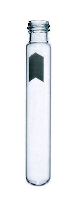 NEW! 1,000 KIMBLE DISPOSABLE GLASS CULTURE TUBES, 8mL, ROUND BOTTOM, 73750-13100