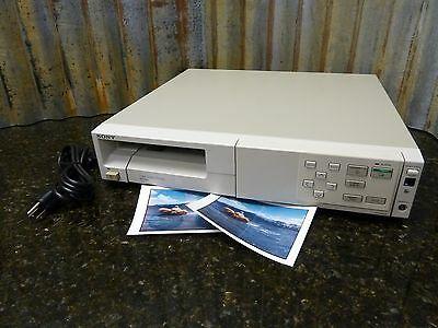 Sony UP-1200A Digital Photo Dye Sublimation Mavigraph Printer Tested Ships Free