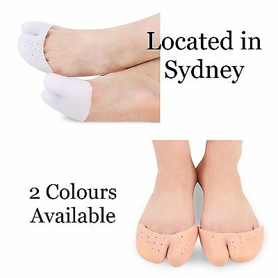 Silicone Gel Ballet Pointe Dance Shoe Pads Cushions Toe Cap Cover Protectors