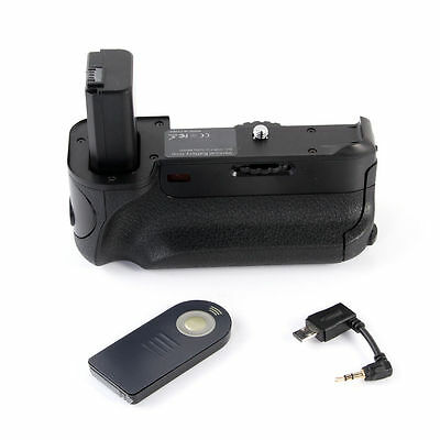 Battery Grip Holder For Sony A6000 ILCE-6000 α6000 Camera as BG-3DIR + IR Remote