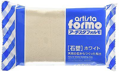 PADICO Artista formo Natural Stone Modeling Clay 500 g White From Japan F/S