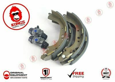Rear Brake Shoes & Wheel Cylinders Pair Suit Toyota Hilux Kun26 2005-2016