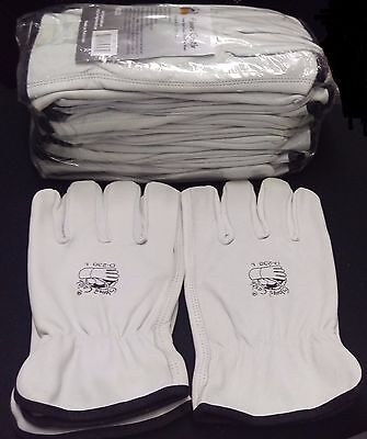 GLOVES CASTLE D-230 Leather Driver Work Gloves(L-12 pairs)