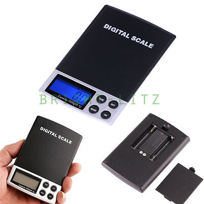0.1g-1000g Electric Small Digital LCD Balance Weighing Scales Precision Battery