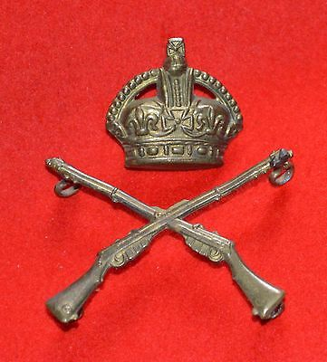British Army. Royal Marines Instructor of Musketry Genuine Arm Badge