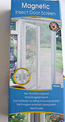 Insect Door Screen - Effectively Protects Against Insects