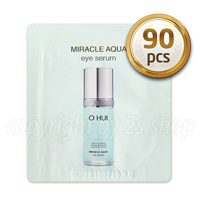 [O HUI] Miracle Aqua Eye Serum1ml x 90pcs Korea Cosmetics OHUI