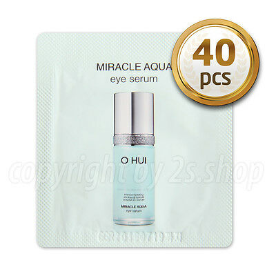 [O HUI] Miracle Aqua Eye Serum1ml x 40pcs Korea Cosmetics OHUI
