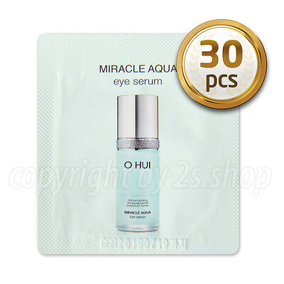 [O HUI] Miracle Aqua Eye Serum1ml x 30pcs Korea Cosmetics OHUI