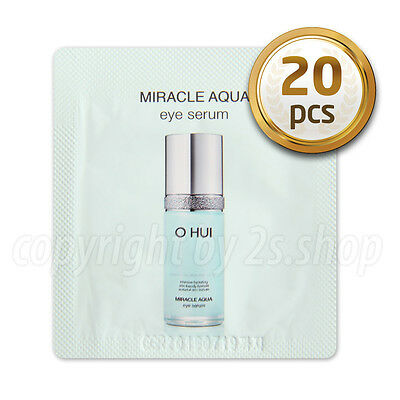 [O HUI] Miracle Aqua Eye Serum1ml x 20pcs Korea Cosmetics OHUI
